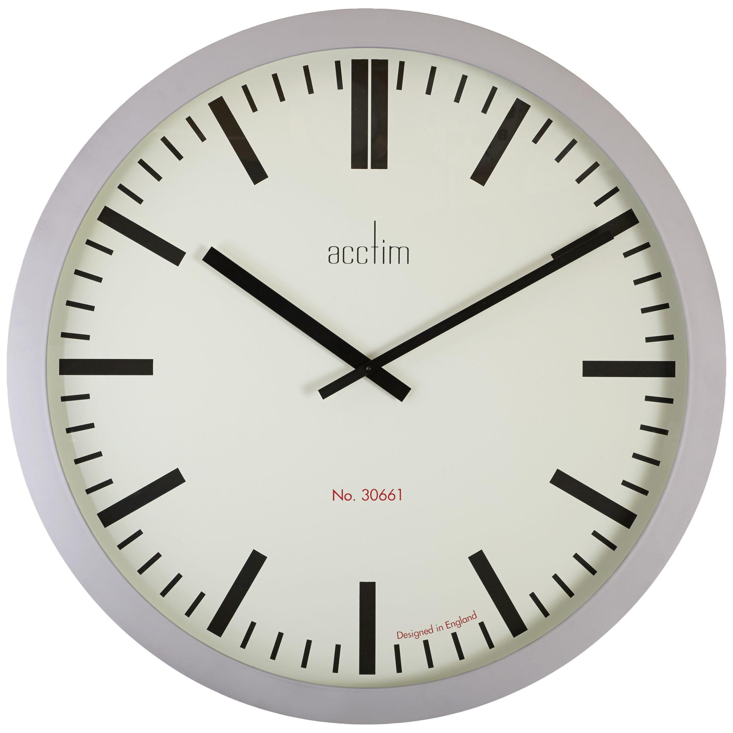 Acctim Acctim Monument Wall Clock, Grey