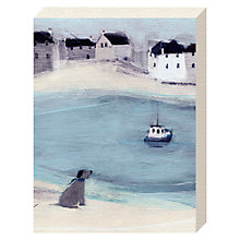 Buy Hannah Cole - Waiting Canvas Print, 20 x 15cm Online at johnlewis.com