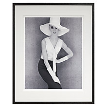 Buy John French - Jean Shrimpton Framed Print, 66 x 53cm Online at johnlewis.com
