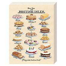 Buy Kelly Hall - Classic Cakes Canvas Print, 20 x 15cm Online at johnlewis.com