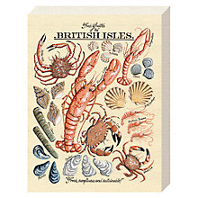 Buy Kelly Hall - Fresh Shellfish Canvas Print, 20 x 15cm Online at johnlewis.com
