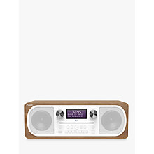 Buy Pure Evoke C-D6 DAB+/FM Bluetooth Stereo All-In-One Music System With Remote Control, Walnut Online at johnlewis.com