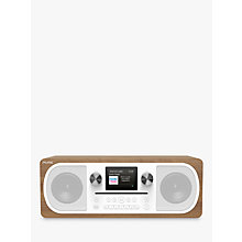 Buy Pure Evoke C-F6 DAB+/FM Bluetooth Stereo All-In-One Smart Music System With Spotify Connect, Colour Display & Remote Control, Walnut Online at johnlewis.com