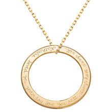 Buy Merci Maman Eternity Necklace Online at johnlewis.com