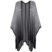 Buy Celuu Naomi Waterfall Cardigan, Grey Online at johnlewis.com