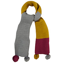 Buy White Stuff Colourblock Rennie Scarf, Multi Online at johnlewis.com