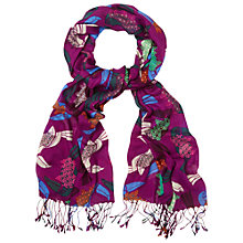 Buy White Stuff Twenties Toucan Scarf, Multi Online at johnlewis.com