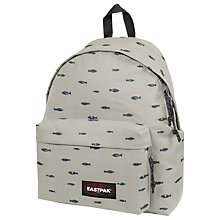 Buy Eastpak Padded Pak'r Fish Stamp Backpack Online at johnlewis.com