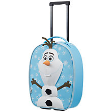 Buy Samsonite Disney Frozen Olaf 50cm Suitcase, Blue Online at johnlewis.com