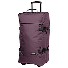 Buy Eastpak Tranverz 79cm 2-Wheel Large Holdall, Wine Tasting Online at johnlewis.com