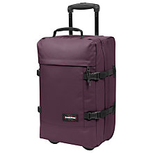 Buy Eastpak Tranverz 51cm 2-Wheel Small Holdall, Wine Tasting Online at johnlewis.com