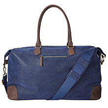 Buy John Lewis Cambridge Large Explorer Bag, Blue Online at johnlewis.com