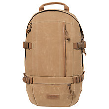 Buy Eastpak Floid Canvas Ltd Backpack, Tan Online at johnlewis.com