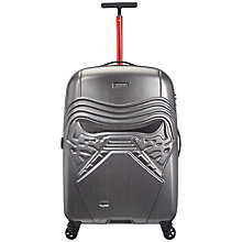 Buy American Tourister Star Wars Kylo Ren Medium Suitcase, Graphite Online at johnlewis.com