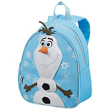Buy Samsonite Disney Frozen Olaf Backpack, Blue Online at johnlewis.com