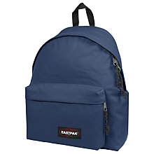 Buy Eastpak Padded Pak'r Backpack, Night Drive Navy Online at johnlewis.com