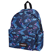 Buy Eastpak Padded Pak'R Backpack, Brize Blue Online at johnlewis.com