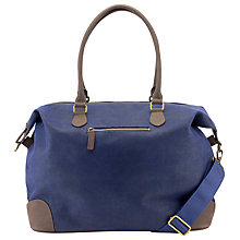 Buy John Lewis Cambridge Medium Explorer Bag, Blue Online at johnlewis.com