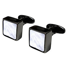 Buy Denison Boston Mindy Mother of Pearl Cufflinks Online at johnlewis.com