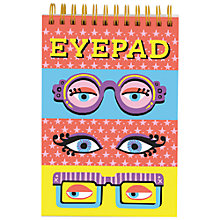 Buy Galison Eye Pad Notebook Online at johnlewis.com