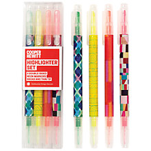 Buy Galison Cooper Hewitt Highlighters, Pack of 4 Online at johnlewis.com