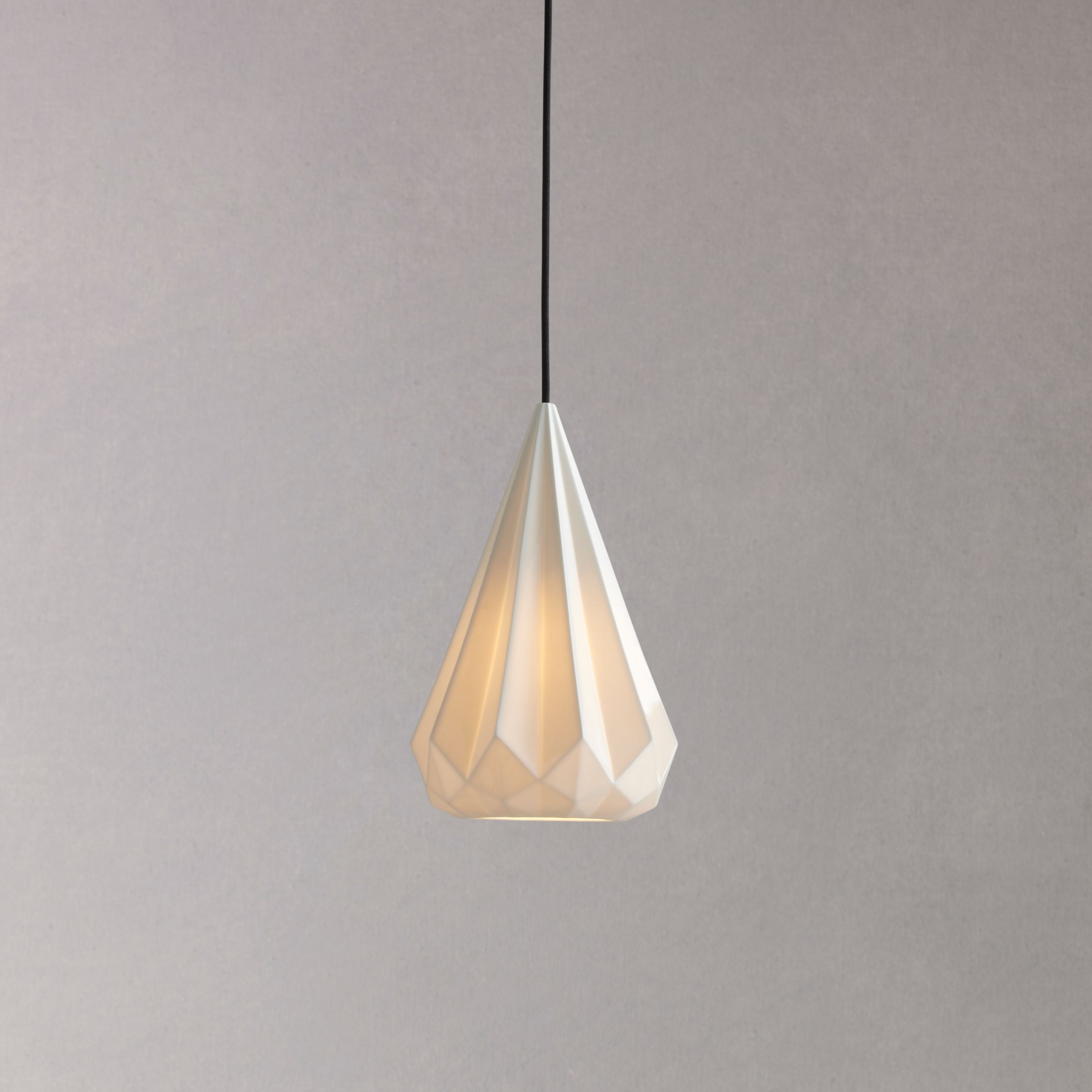 Original BTC Original BTC Hatton 3 Tall Pendant Light, 21cm