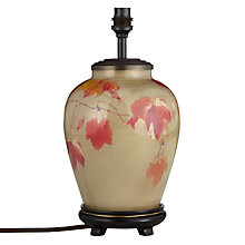 Buy Jenny Worrall Small Vine Glass Table Lamp, Gold Online at johnlewis.com