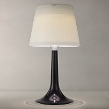 Buy Konstsmide Assisi Solar Outdoor Table Lamp, Black Online at johnlewis.com