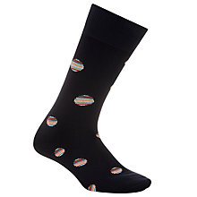 Buy Paul Smith Multi Polka Dot Socks, One Size, Navy Online at johnlewis.com