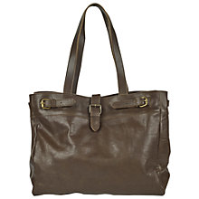 Buy Fat Face Three Buckle Leather Tote Bag Online at johnlewis.com