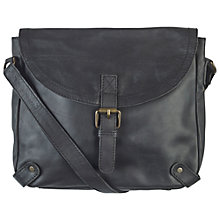 Buy Fat Face Kingham Leather Cross Body Bag Online at johnlewis.com
