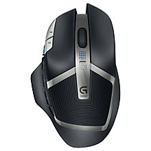Buy Logitech G602 Wireless Gaming Mouse, Black Online at johnlewis.com