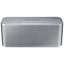 Buy Samsung Level Box Mini Bluetooth Wireless Speaker, Silver Online at johnlewis.com