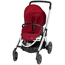 Buy Maxi-Cosi Elea Pushchair, Raspberry Red Online at johnlewis.com