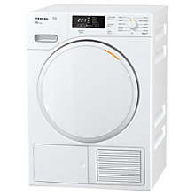 Buy Miele TMB140WP Heat Pump Freestanding Tumble Dryer, 7kg Load, A++ Energy Rating, White Online at johnlewis.com