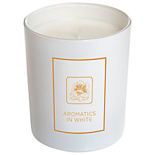 Buy Clinique Aromatics In White Candle Online at johnlewis.com