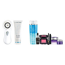Buy Clarisonic Mia 2 Sonic Skin Cleansing System, White and Lancôme Gel Éclat, 125ml with Rénergie Gift Online at johnlewis.com