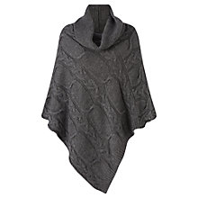 Buy Jigsaw Roll Neck Knit Poncho Online at johnlewis.com