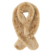 Buy Jigsaw Faux Fur Scarf Online at johnlewis.com