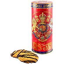 Buy Royal Collection Coronation Biscuit Tube with Biscuits 250g Online at johnlewis.com