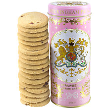 Buy Royal Collection Georgian Shortbread Tin & Biscuits, Pink Online at johnlewis.com