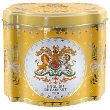 Buy Royal Collection Georgian Tea Caddy with 50 Tea Bags (Variety), Yellow Online at johnlewis.com