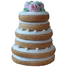 Buy Little Bee Bakery Wedding Cake Stack Biscuit Online at johnlewis.com