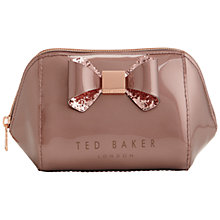 Buy Ted Baker Jillie Bow Make Up Bag Online at johnlewis.com