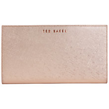 Buy Ted Baker Pavloss Passport Holder, Rose Gold Online at johnlewis.com