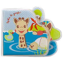 Buy Sophie la Girafe Baby Bath Book Online at johnlewis.com