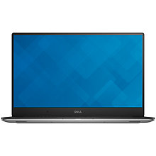 "Buy Dell XPS 15-9550 Laptop, Intel Core i7, 16GB RAM, 1TB HDD + 32GB SSD, 15"" Ultra HD (4K), Silver Online at johnlewis.com"