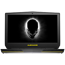 "Buy Alienware 15 R2 Laptop, Intel Core i7, 16GB RAM, 1TB, 15.6"", Silver Online at johnlewis.com"