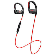Buy Jabra Sport Pace Wireless Around-Ear Headphones with Integrated Training App, Red Online at johnlewis.com