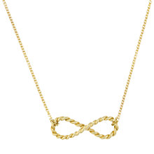 Buy London Road 9ct Yellow Gold Large Infinity Pendant, Gold Online at johnlewis.com